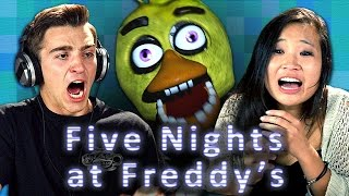 Download FIVE NIGHTS AT FREDDY'S (Teens React: Gaming) Video