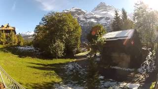 Download Our First Morning In Gimmelwald, Switzerland. Video