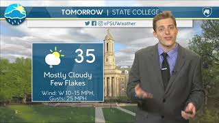 Download Tuesday Evening Forecast 1/19/19 Video