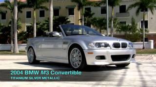 Download 2004 BMW M3 Convertible Titanium Silver Metallic A2644 Video