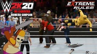 Download WWE 2K20: Homero Vs Freddy,jason and Chucky por el Titulo de la WWE (La Pesadilla Amarilla) Video