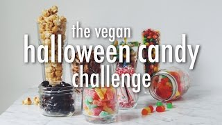Download THE VEGAN HALLOWEEN CANDY CHALLENGE   hot for food Video