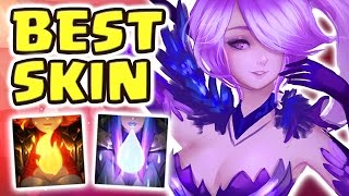 Download NEW ELEMENTALIST LUX JUNGLE SPOTLIGHT | BEST SKIN EVER | NEW META FULL AP - Nightblue3 Video