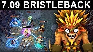 Download AMAZING BRISTLEBACK PATCH 7.09 DOTA 2 NEW META GAMEPLAY #31 (gattu BRISTLEBACK) Video