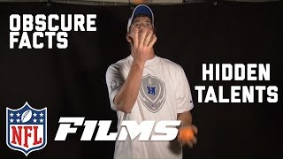 Download NFL Players & Coaches Reveal Their Hidden Talents & Obscure Facts | NFL Films Presents Video