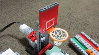 Download Lego Basketball Shoot Game with WeDo 2.0 Video