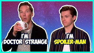 Download Tom Holland & Benedict Cumberbatch Funny Moments (Avengers Infinity War) Video