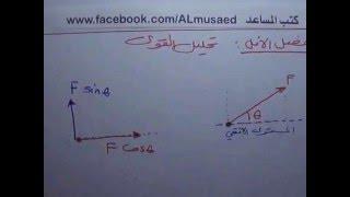Download تحليل القوي- أساسيات 1- لديك قوة تصنع زاوية في اتجاه معين كيف تبدأ التحليل؟ - ميكانيكا Video
