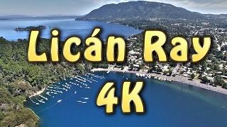 Download Vista aérea lago Calafquén Licán Ray Villarrica Araucanía Sur de Chile Drone Temuco phantom 4 Video