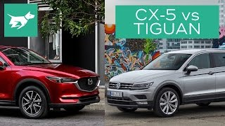 Download 2017 Mazda CX-5 vs 2017 Volkswagen Tiguan Comparison Review Video