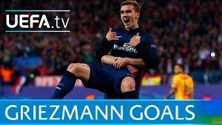 Download Antoine Griezmann - Five great goals Video