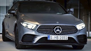 Download Mercedes CLS (2018) Ready to fight Audi A7 Video