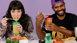 Download People Blend Their Favorite Foods Together Video