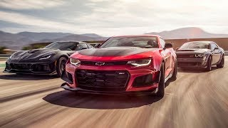 Download Corvette ZR1 vs Camaro ZL1 vs Dodge Demon | Top Gear Video