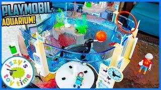 Download Playmobil AQUARIUM! Fun Toys for Kids! Video