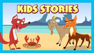 Download KIDS STORIES - The Fox and The Crab Full Stories || Animated Stories For Kids - Tia and Tofu Stories Video