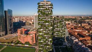 Download Bosco Verticale (Vertical Forest), Milan - Project of the Week 1/15/18 Video