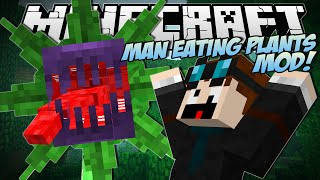 Download Minecraft | MAN EATING PLANTS MOD! (Mowzies Mobs) | Mod Showcase Video