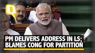 Download PM Modi Attacks Cong, Blames Nehru for Losing a Part of Kashmir | The Quint Video