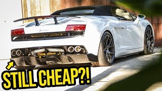 Download Here's How Much Money My Cheap Lamborghini ACTUALLY Cost To Rebuild Video