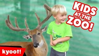 Download Funniest Kids at the Zoo Reactions, Bloopers & Moments Compilation of 2016 | Kyoot Animals Video