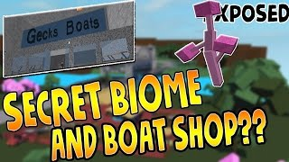 How to get to the Ferry, Maze and get Blue Wood! Lumber