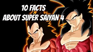 Download 10 Facts About Super Saiyan 4 Video