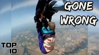 Download Top 10 Scary Skydiving Videos Caught On Camera Video