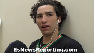Download Muhammad Ali's grandson Nico Ali Walsh on Canelo Chavez jr and more - EsNews Boxing Video