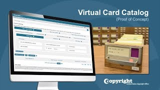 Download Virtual Card Catalog: Demonstration (Updated February 2019) Video