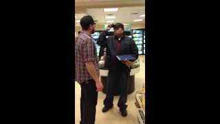 Download Crazy guy in 7-11 gets OWNED! Video