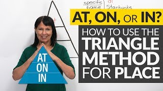 Download AT, ON, or IN? The Triangle Method for Prepositions of Place Video