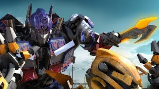Download Transformers: Optimus Prime VS Bumble Bee (FanMade) Video