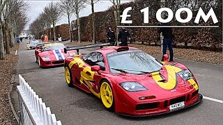 Download £100 MILLION WORTH OF RACE CARS ON TRACK!! Video