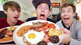 Download 5000 Calories of FULL ENGLISH BREAKFAST!!! Video