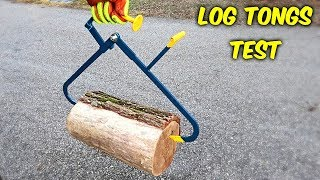 Download Testing Firewood Pick Up Tools! Video
