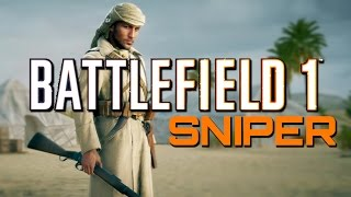 Download Battlefield 1: Martini-Henry Sniper Support (PS4 Pro Sniping Gameplay) Video