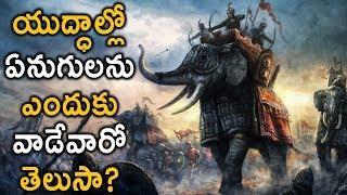 Download యుద్ధాల్లో ఏనుగులను ఎందుకు వాడేవారో తెలుసా..?   The Masculinity of Elephants in World History..! Video