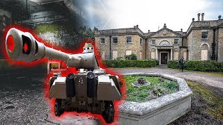 Download FOUND a TANK In Abandoned Mansion UNDERGROUND Basement Video