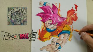 Download COMO DIBUJAR A GOKU DIOS ROJO - DRAGON BALL SUPER / how to draw goku red god - dragon ball super Video