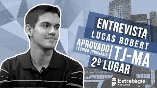Download LUCAS ROBERT | APROVADO | 2º LUGAR | TJ-MA | TÉCNICO JUDICIÁRIO Video