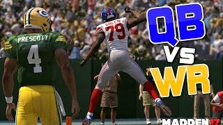 Download Team of QUARTERBACKS vs Team of WIDE RECEIVERS!! Madden 17 Challenge Video