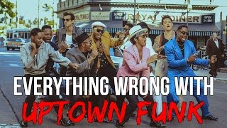 Download Everything Wrong With Bruno Mars - ″Uptown Funk″ Video