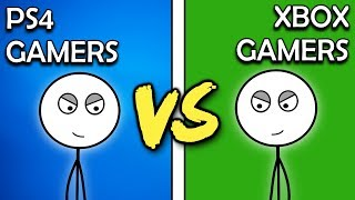 Download PS4 Gamers VS Xbox One Gamers Video