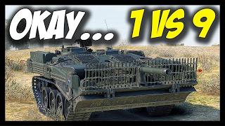 Download ► 1 VS 9 - OMG, STRV 103B! - World of Tanks STRV 103B Gameplay Video