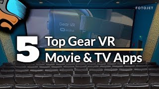 Download My Top 5 Gear VR & Oculus Go Movie Apps - From Cinema to TV in VR Video