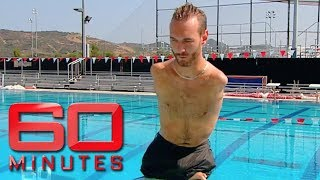 Download Inspiring man born without arms or legs - Nick Vujicic | 60 Minutes Australia Video