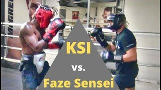 Download KSI vs Faze Sensei FULL LEGENDARY SPARRING SESSION!!! (Faze gets dropped) Video