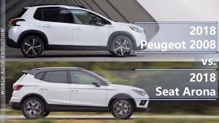 Download 2018 Peugeot 2008 vs 2018 Seat Arona (technical comparison) Video