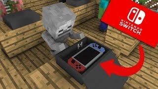 Download Monster School: Unboxing Nintendo Switch - Minecraft Animation Video